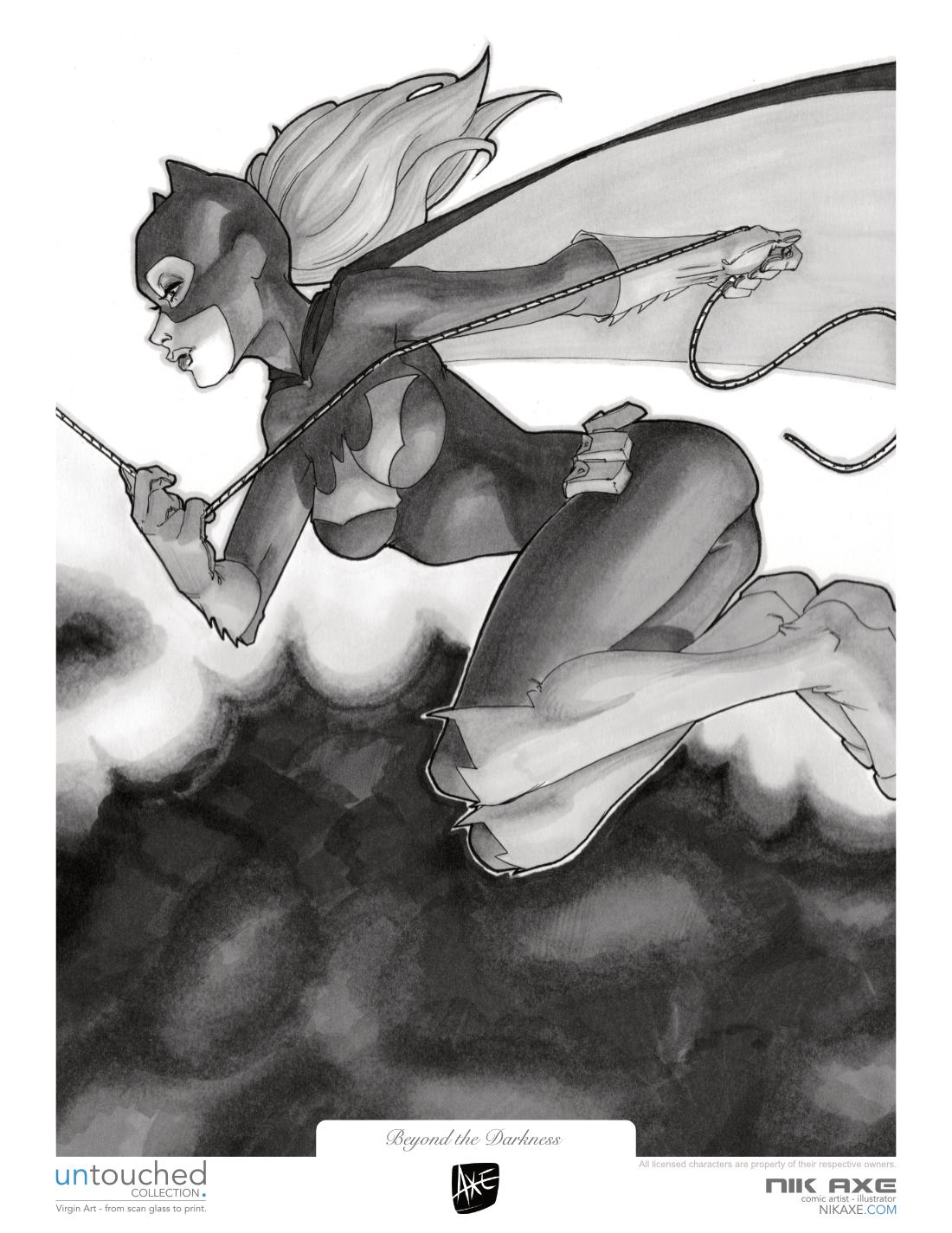 Batgirl Art Print Batman DC Comics Beyond the Darkness
